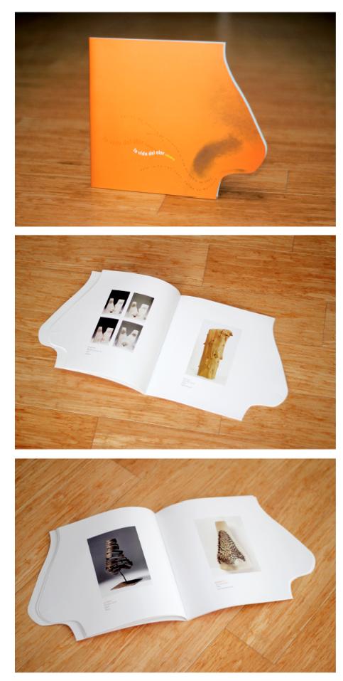 Diseño grafico Catálogo: La vida del olor