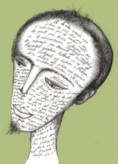 Ilustración punto de libro