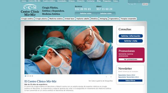 Pagina web Web en Mataró