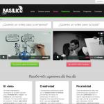 Pagina web para productora de vídeo