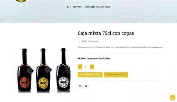 Tienda online para Balate, productos Balate