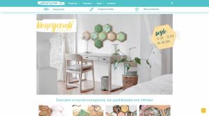 Diseño de página web para Honeycomb