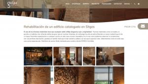 Diseño web galería de fotos